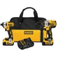Dewalt Brushless Drill and Impact Driver Combo
